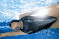 nageuse soleil